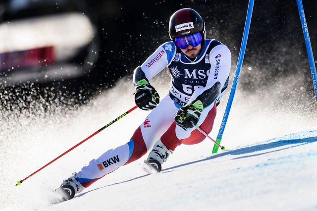 Ski alpin, coupe du monde, géant messieurs, Garmisch Partenkirschen [/Jean-Christophe Bott - Keystone]