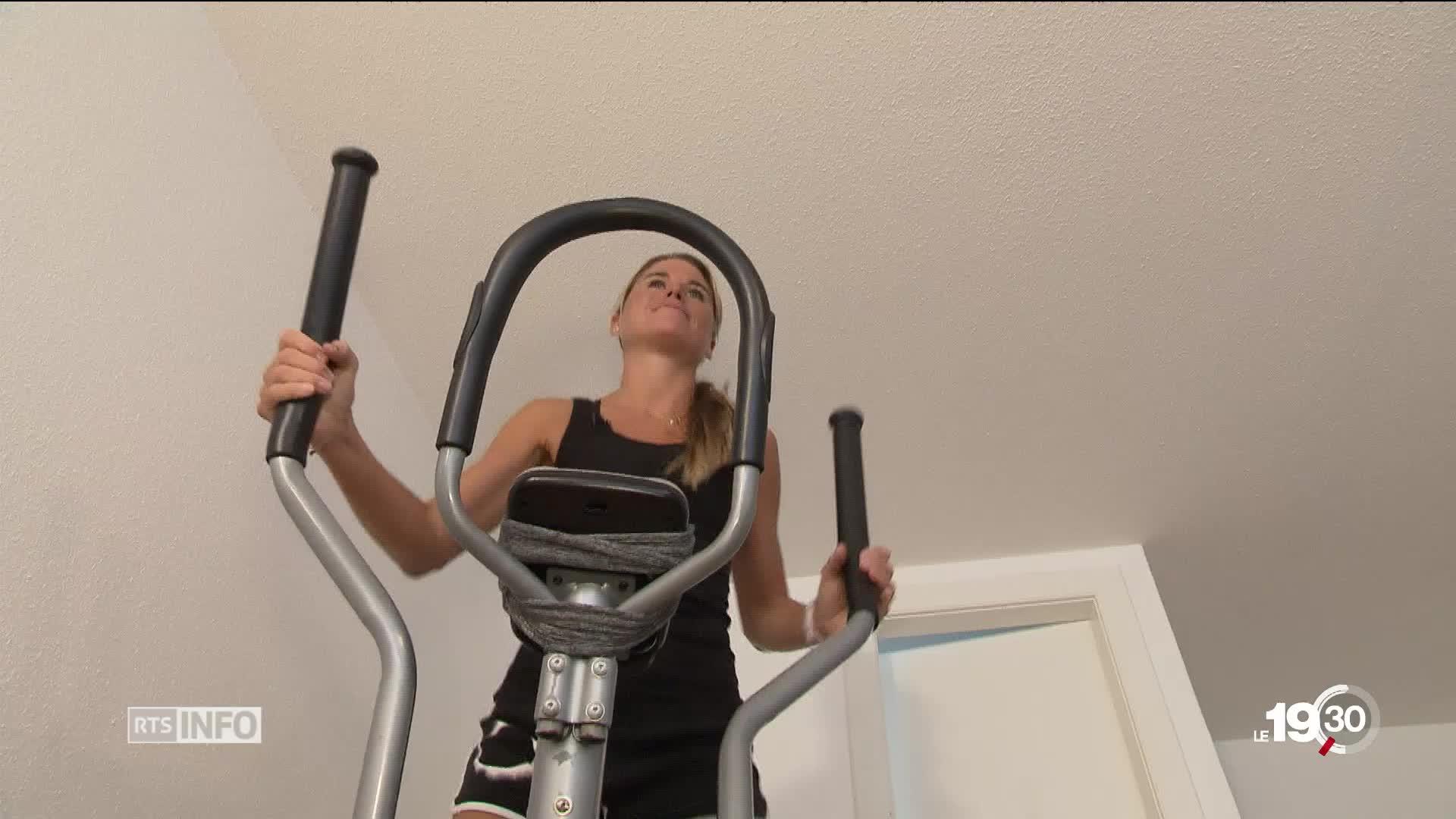 le fitness la maison une activit tendance qui comporte. Black Bedroom Furniture Sets. Home Design Ideas