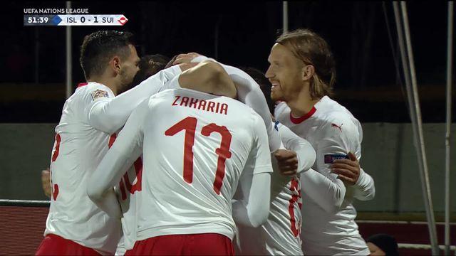 Gr.2, Islande – Suisse (0-1): 52e, Seferovic ouvre le score de la tête! [RTS]