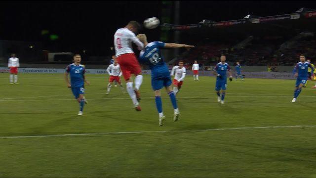 Gr.2, Islande – Suisse (1-2): tous les buts du match [RTS]