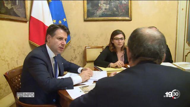 L'Italie défie l'Europe. Avec son budget 2019, le gouvernement  italien ne respecte pas  les critères de rigueur et de stabilité [RTS]