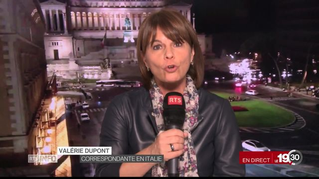 Les précisions de Valérie Dupont sur le budget italien pour l'année 2019 [RTS]