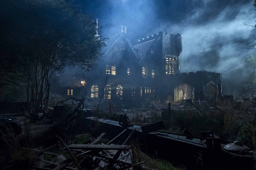 "Une image de la série ""The Haunting house of Hill House""."