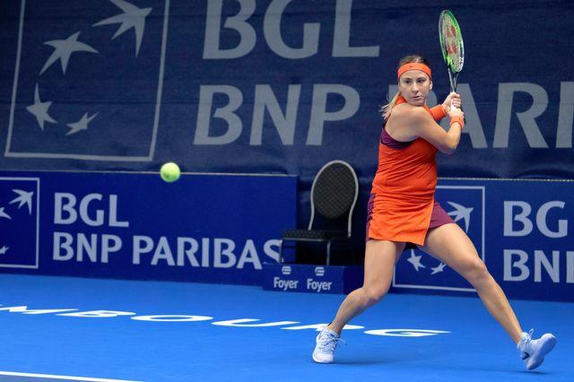Belinda Bencic a livré un match solide. [Georges Noesen - Freshfocus]