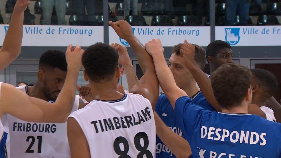 Fribourg Olympic - Opava (97-79): les plus belles actions de Fribourg [RTS]