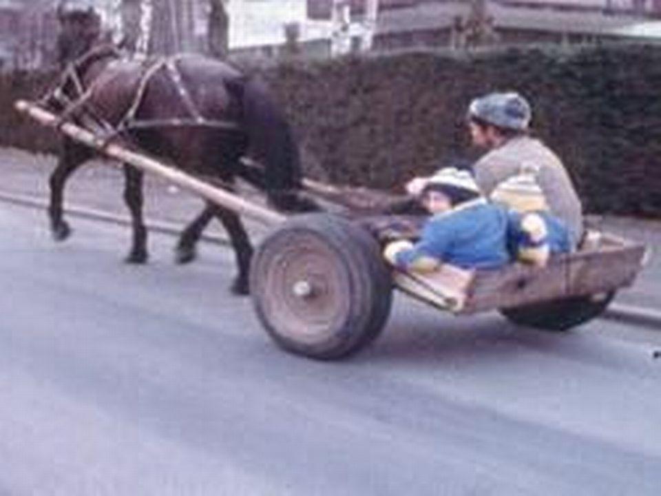 Dimanche sans voiture en 1977. [RTS]