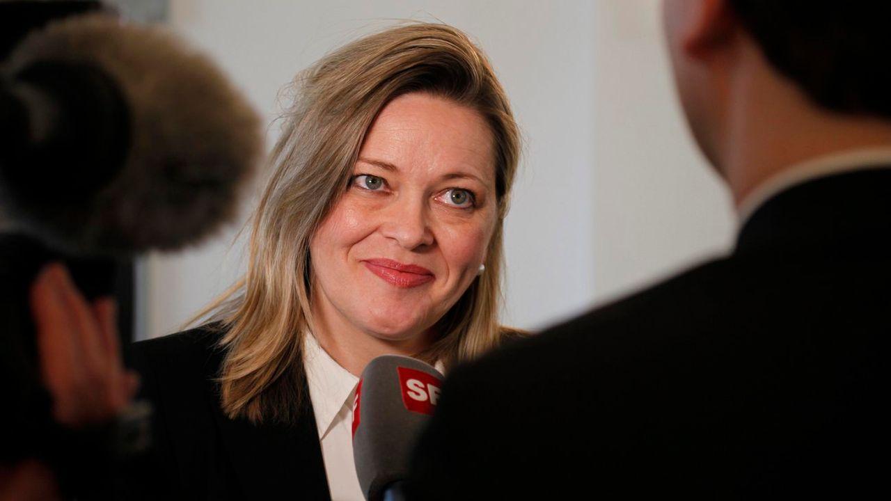 Heidi Z'graggen siège au Conseil d'Etat uranais depuis 14 ans. [Geri Holdener - Keystone]