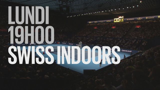 Bande-annonce: Tennis ATP 500 Swiss Indoors du 22.10.2018 [RTS]
