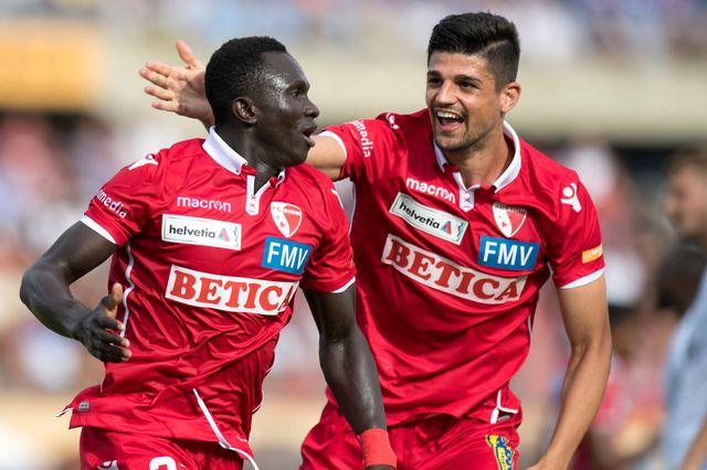 Coupe de Suisse FC St-Gall - FC Sion 1/8e de finale [Laurent Gillieron - Keystone]