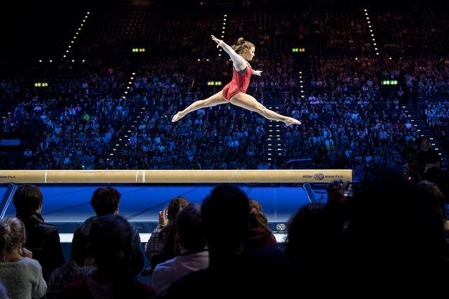 Gymnastique artistique [Ennio Leanza - Keystone]