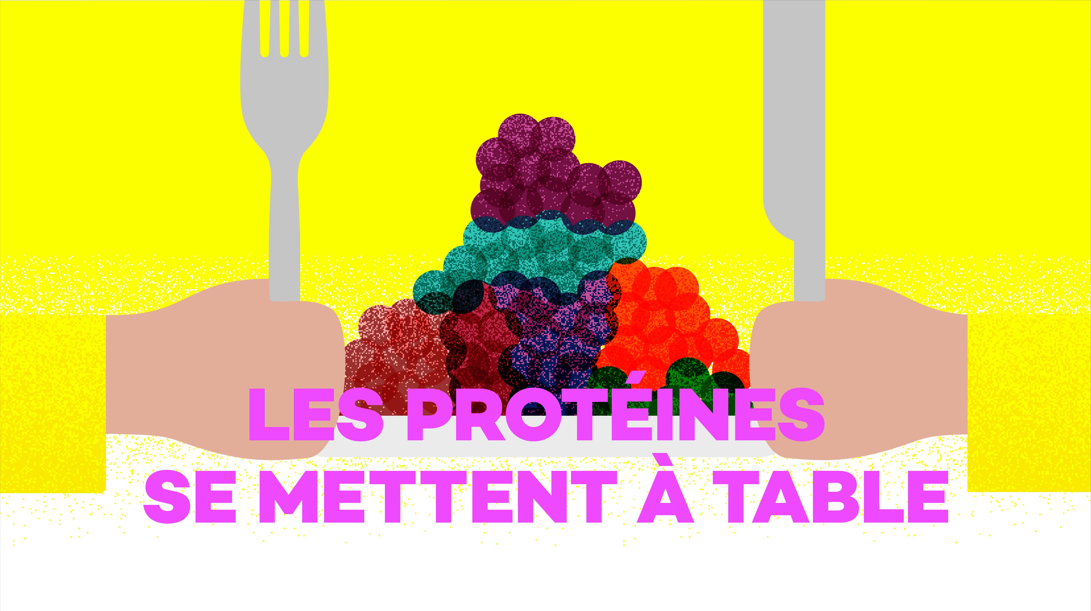 Logo Les protéines se mettent à table [RTS]