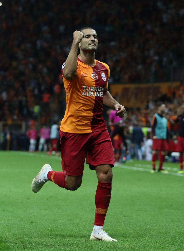 Derdiyok tourne à plein régime en championnat de Turquie. [Tolga Bozoglu - Keystone]