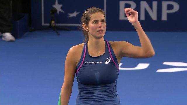 WTA Luxembourg, finale, J.Görges (ALL) - B.Bencic (SUI) (6-4, 7-5): Belinda Bencic s'incline en deux sets face à Julia Görges [RTS]