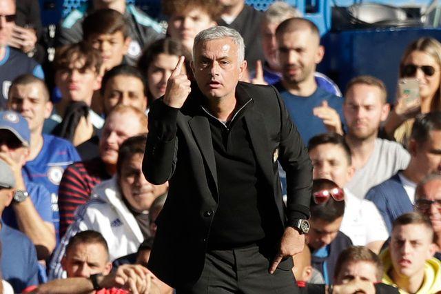 José Mourinho s'est emporté après l'égalisation de Chelsea. [Matt Dunham - Keystone]