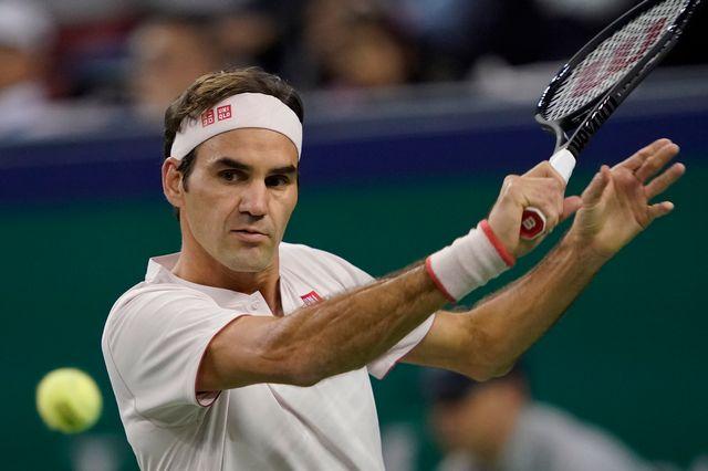 Roger Federer part à la quête d'un neuvième titre à Bâle. [Andy Wong - Keystone]