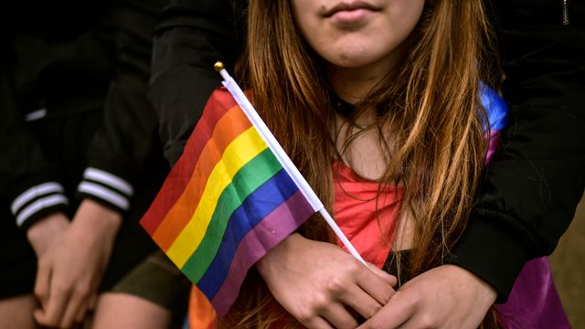 Homophobie (image d'illustration). [Alvaro Barrientos - AP Photo/Keystone]