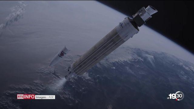 Embarquement pour Mercure. La mission BepiColombo a pris son envol la nuit dernière pour percer les mystères de cette planète. [RTS]
