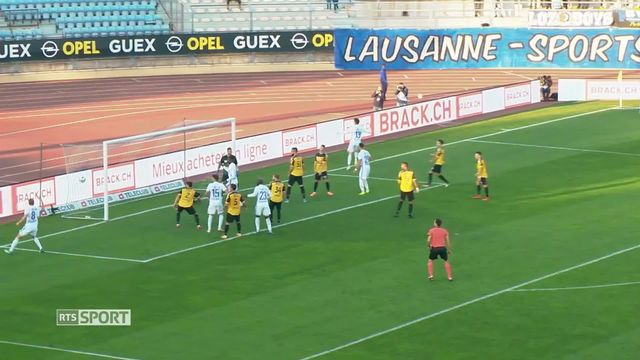 Football: Challenge League, Lausanne-Sport - FC Schaffhouse (2-0) [RTS]