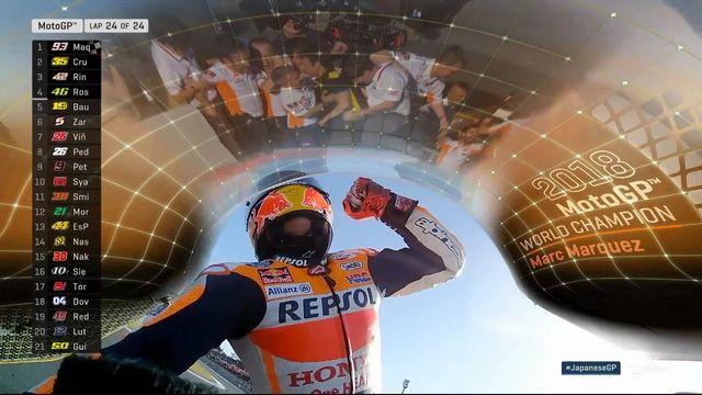 MotoGP, GP du Japon (#16): Marc Marquez (ESP) champion du monde! [RTS]