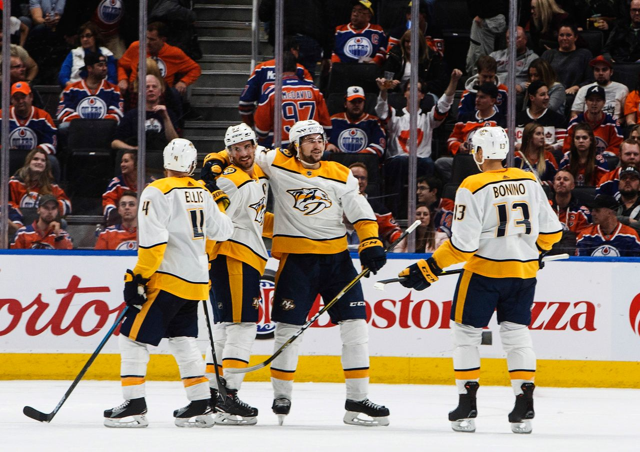 Les Predators de Josi ont enchaîné un cinquième succès consécutif en NHL. [Jason Franson - Keystone]