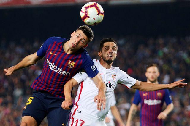 Le FC Barcelone s'est imposé contre le FC Séville. [Alejandro Garcia - EPA/Keystone]