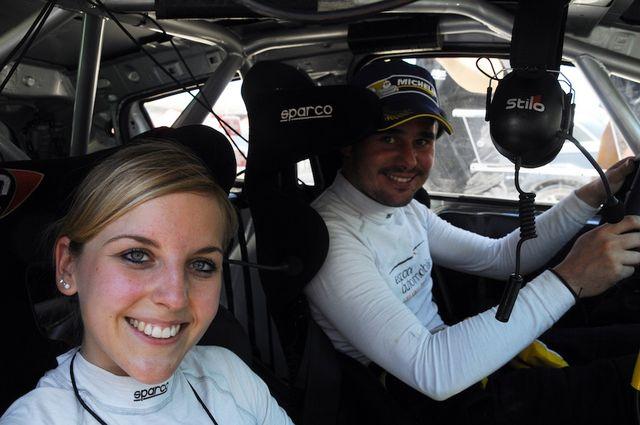 Cédric Althaus avec sa copilote Jessica Bayard. [www.clior3.com]