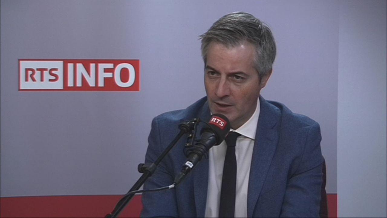 L'invité de Tania Barril (vidéo) - Pierre-Antoine Hildbrand, municipal lausannois en charge de la Sécurité [RTS]