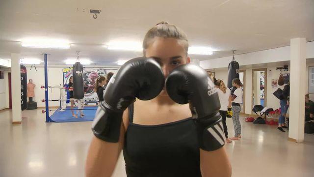 Kick Boxing: reportage [RTS]