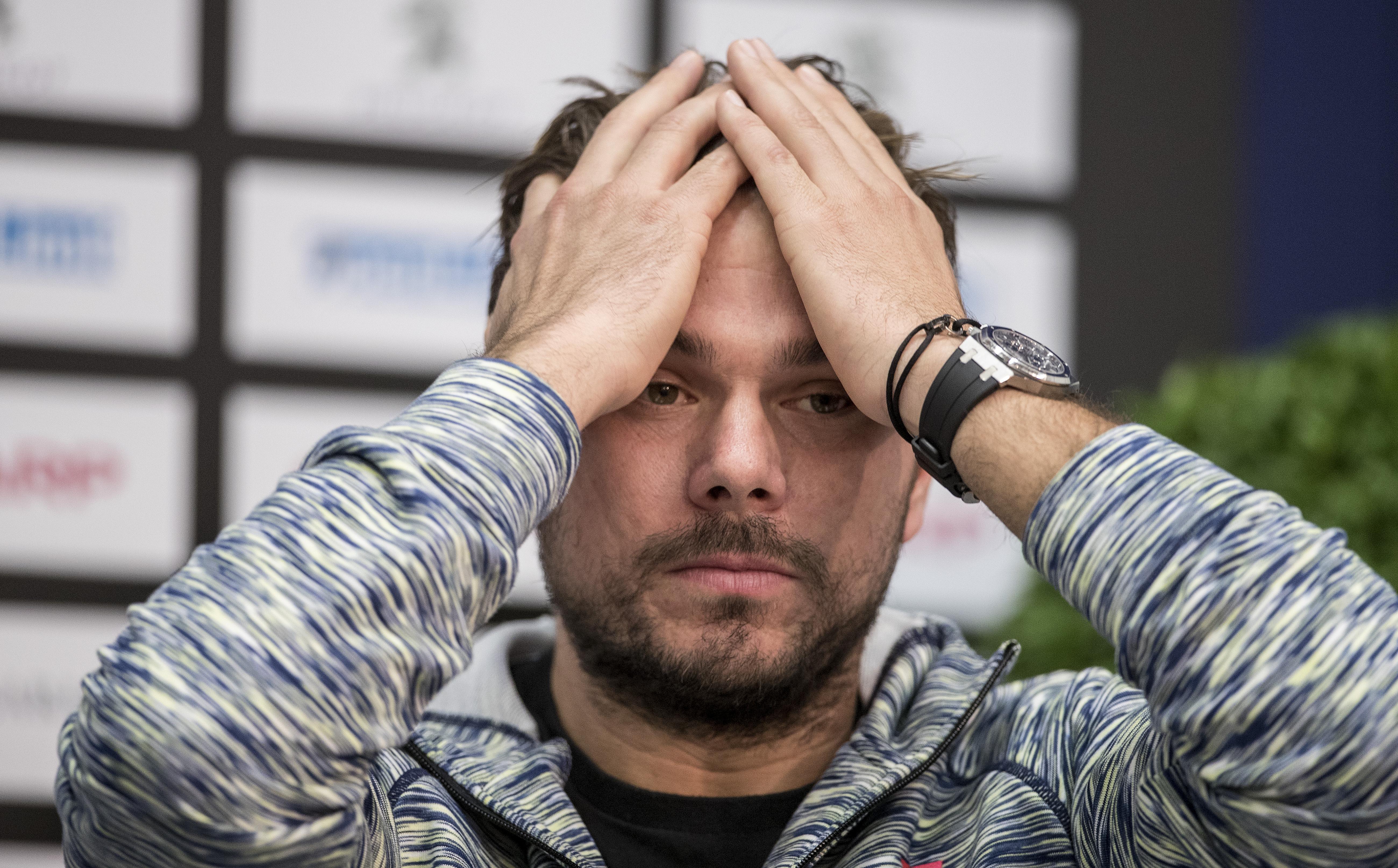 Tennis: Pour Wawrinka, la saison 2018 est terminée