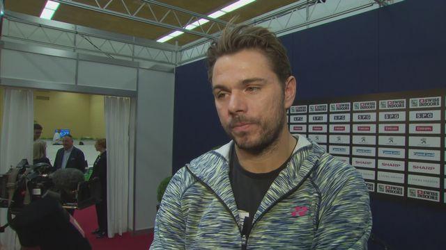 Tennis: Stan Wawrinka à l'interview [RTS]