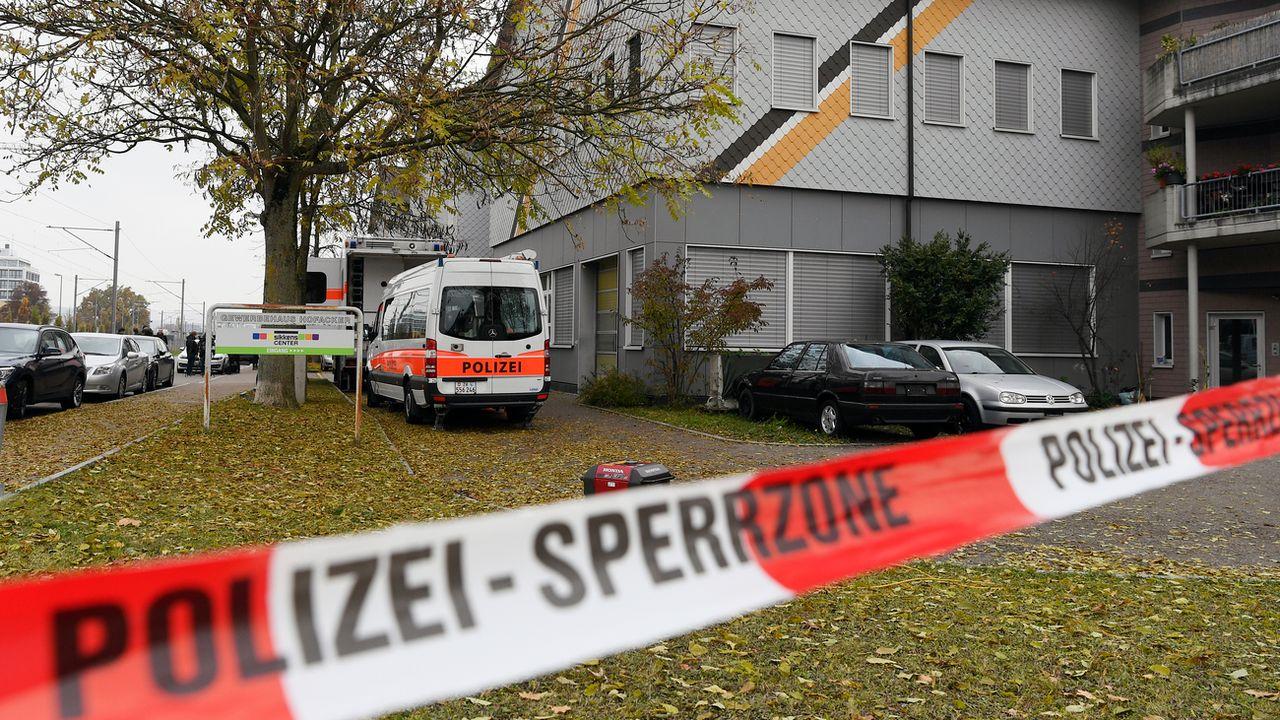 Les accusés, qui fréquentaient la mosquée, avaient agressé deux autres fidèles en novembre 2016. [Walter Bieri - Keystone]