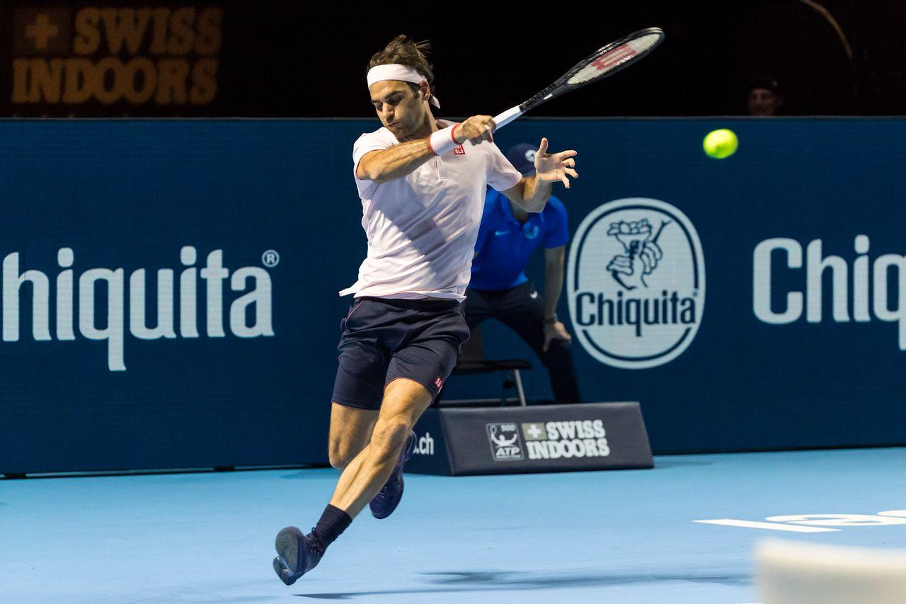 Si la mise en route n'a pas été idéale pour Federer, la suite du match a été des plus tranquilles. [Pascal Muller - Freshfocus]