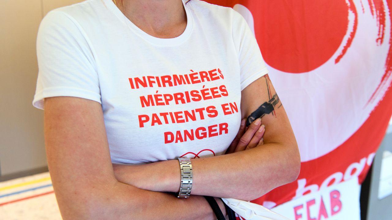 Le TF a donné raison à deux infirmières de l'Hôpital fribourgeois. [Anthony Anex - Keystone]
