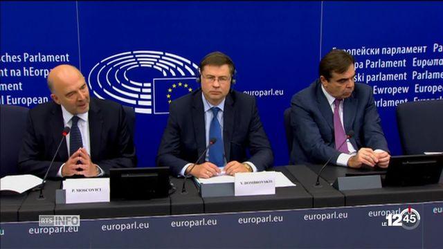 Dialogue de sourds entre Rome et Bruxelles après le refus du budget italien par la Commission européenne. [RTS]