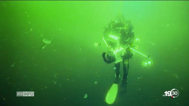 """Mer Noire: découverte de la plus vieille épave """"intacte"""" du monde. Le navire daterait de 400 ans avant Jésus-Christ. [RTS]"""