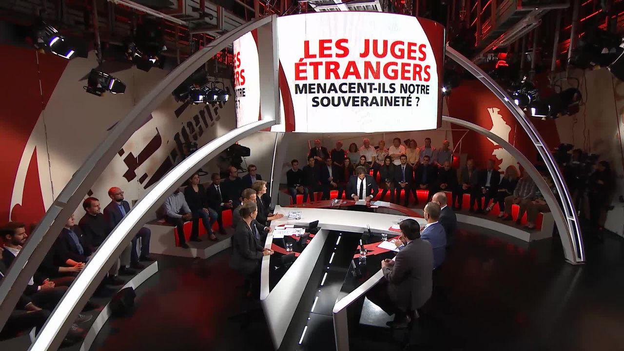 Spécial votation - Les juges étrangers menacent-ils notre souveraineté? [RTS]