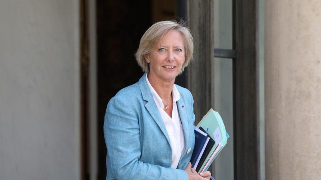 La secrétaire d'Etat aux personnes handicapées Sophie Cluzel, en juin 2018 à Paris. [Ludovic Marin - AFP]