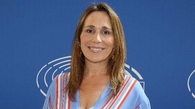 L'eurodéputée italienne Tiziana Beghin, membre du Mouvement 5 étoiles. [twitter.com]