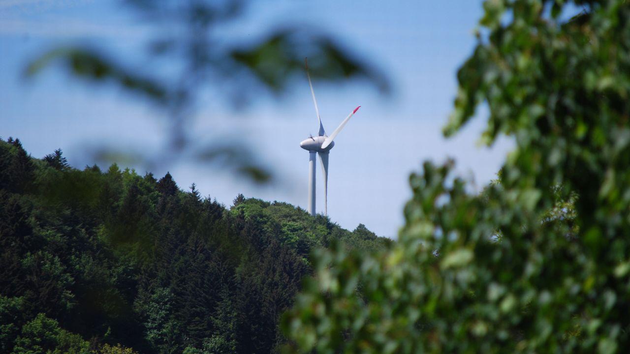 Le gouvernement jurassien dévoile sa stratégie en matière d'énergie éolienne. [Gaël Klein - RTS]