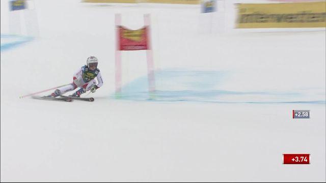 Sölden (AUT), Géant dames, 1re manche: Aline Danioth ne se qualifie pas pour la deuxième manche [RTS]