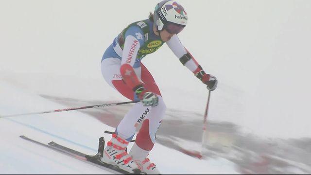 Sölden (AUT), Géant dames, 2e manche: Michelle Gisin prend la 4e place provisoire [RTS]