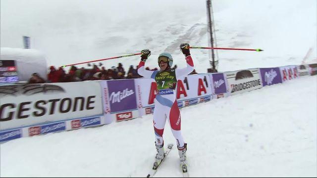 Sölden (AUT), Géant dames, 2e manche: Wendy Holdener prend la 1re place provisoire [RTS]