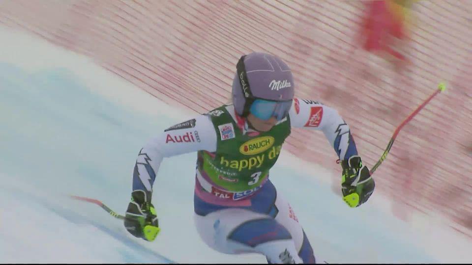 Sölden (AUT), Géant dames, 2e manche: Tessa Worley (FRA) remporte la première course de la saison [RTS]