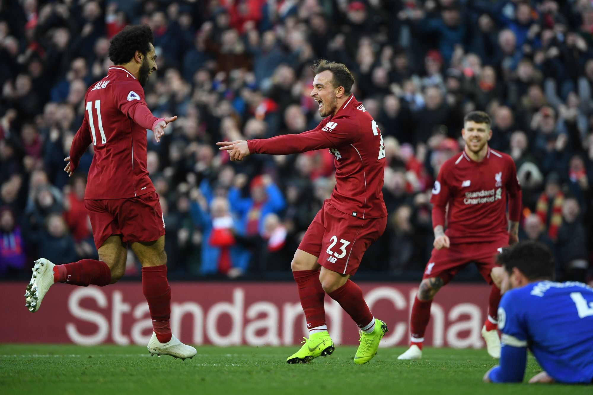 Liverpool vs Cardiff (4-1), doublé de Sadio Mané !
