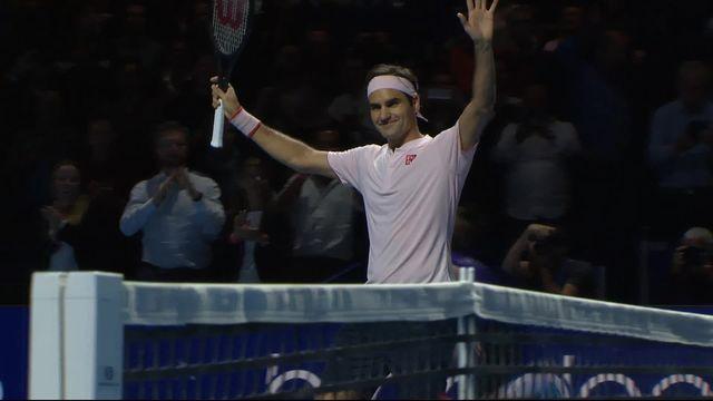 1-2, R. Federer (SUI) - D. Medvedev (RUS) (6-1, 6-4): Federer se qualifie pour la finale [RTS]