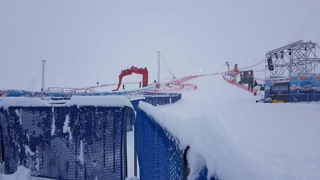 La course messieurs avait déjà été annulée la saison dernière. [Twitter - FIS Alpine]