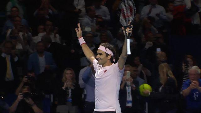 Finale, R. Federer (SUI) - M. Copil (ROU) (7-6, 6-4): Federer s'impose pour la neuvième fois à Bâle ! [RTS]