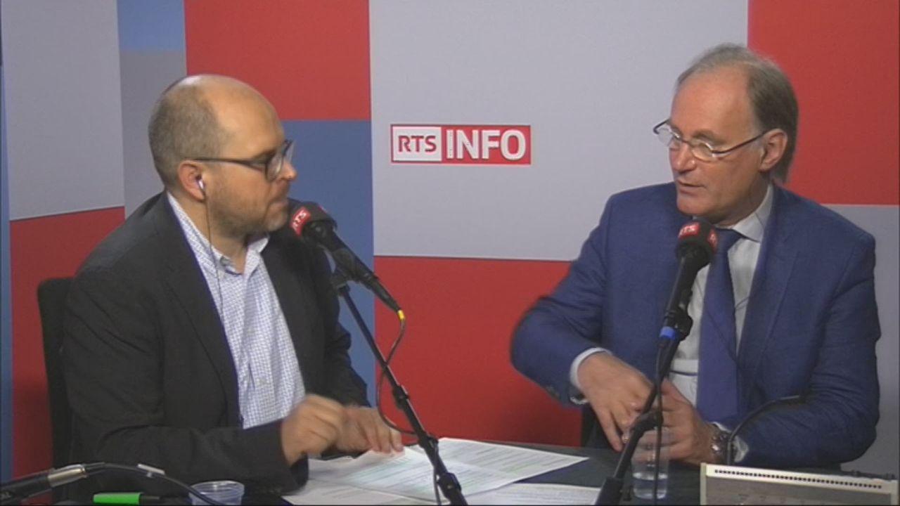 L'invité de Romain Clivaz (vidéo) - Yves Nidegger, conseiller national UDC [RTS]