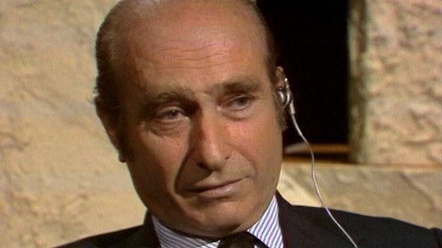 Juan Manuel Fangio, 1973. [RTS]