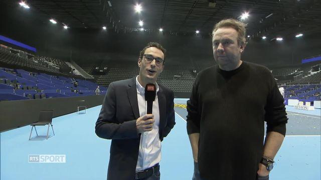 Tennis, Swiss Indoors de Bâle: l'analyse de la Finale par Marc Gisclon et Marc Rosset [RTS]